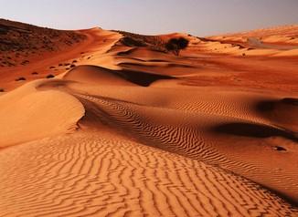 пустинята уахиба в оман