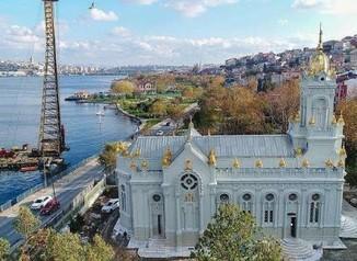 св.стефан в истанбул
